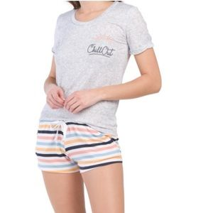 C&C California Chill Out Shorty Pajama Set